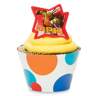 Teenage Mutant Ninja Turtles Cupcake Wrapper & Pick Kit