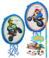 Mario Kart Wii Mario and Luigi Pinata Kit