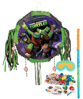 Teenage Mutant Ninja Turtles Drum Pull-String Pinata Kit