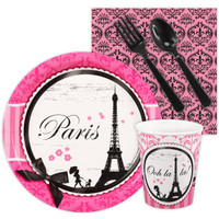 Paris Damask Snack Party Pack