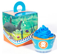 The Octonauts Cupcake Wrapper & Box Kit