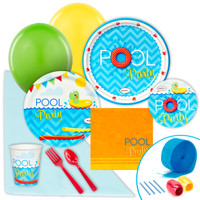 Splashin' Pool Party Value Party Pack
