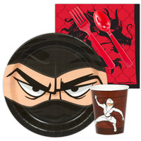 Ninja Warrior Party Snack Party Pack