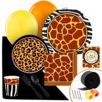 Safari Animal Adventure Value Party Pack