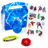 Avengers Assemble Filled Party Favor Box (Pack of 4)