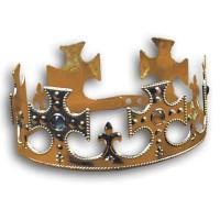 Plastic Jeweled Crown