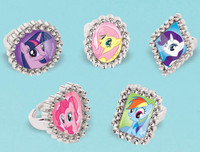 My Little Pony Friendship Magic Jewel Rings