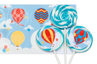 Hot Air Balloon Party Deluxe Lollipop Favor Kit