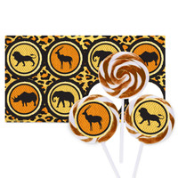 Safari Animal Adventure Large Lollipop Kit