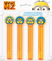 Minions Despicable Me - Bubble Tubes & Wands