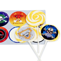 Monster Jam 3D Deluxe Lollipop Favor Kit