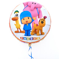 Pocoyo Happy Birthday Foil Balloon