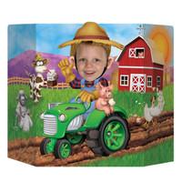 Farm Tractor Photo Prop