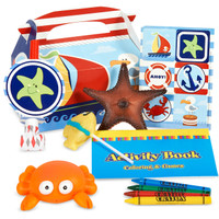 Nautical Fun Filled Favor Box (Pack of 4)
