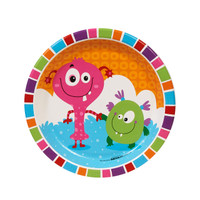 Monsters Dessert Plates (8)