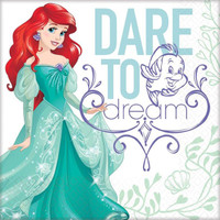 Disney Ariel Dream Big Lunch Napkins (16)