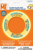 Minions Despicable Me Flying Glow Disc