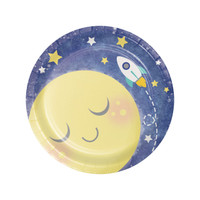 "To the Moon & Back 7"" Dessert Plates (8)"