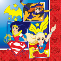 DC Super Hero Girls Lunch Napkin