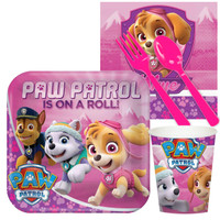 Pink Paw Patrol Girl Snack Party Pack