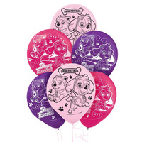 Pink Paw Patrol Girl Theme Latex Balloon (6)