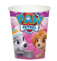 Pink Paw Patrol Girl 9oz Paper Cups (8)
