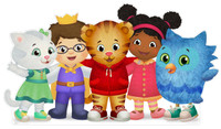 Daniel Tigers Neighboorhood Stand Up/In
