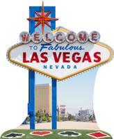 Vegas Sign Standup