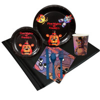 Five Nights at Freddy's Party Pack (8)