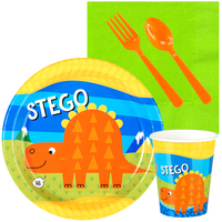 T-Rex 1st Birthday Snack Pack