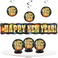 New Years Eve Decoration Pack