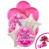 Princess Party Balloon Bouquet