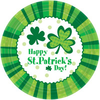 "St. Patrick's Day 9"" Dinner Plates"