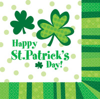 St. Patrick's Day Luncheon Napkins