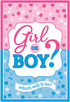 Gender Reveal Invitations (8)