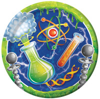 Mad Scientist Dinner Plates (8)