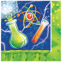 Mad Scientist Lunch Napkins (16)