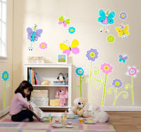 Butterfly Party Giant Wall Decals