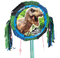 Jurassic World Drum Pull-String Pinata