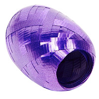 Dark Purple Curling Ribbon