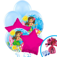 Luau Balloon Bouquet