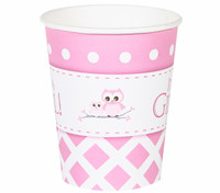 It's A Girl 9oz. Paper Cups (8)