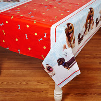 Secret Life of Pets Plastic Tablecover