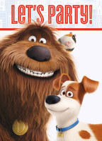 Secret Life of Pets Invitations (8)