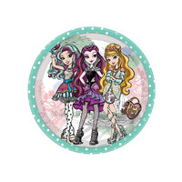 Ever After High Dessert Plates (8)