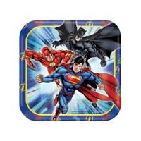 Justice League Square Dessert Plates (8)