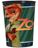 Zootopia 16 oz. Plastic Cup