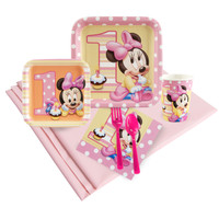 Minnie Mouse 1st Birthday Party Pack
