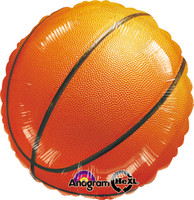 Basketball Fan Foil Balloon