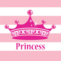 Princess Party Lunch Napkins (16)